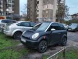 В Киеве замечен редкий электромобиль с печальной судьбой